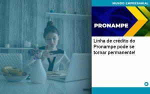 Linha De Credito Do Pronampe Pode Se Tornar Permanente Organização Contábil Lawini - i9 Contabilit